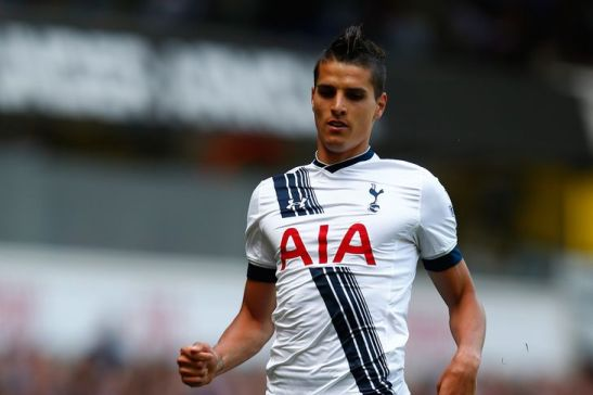 Erik Lamela against Hull City May 2015